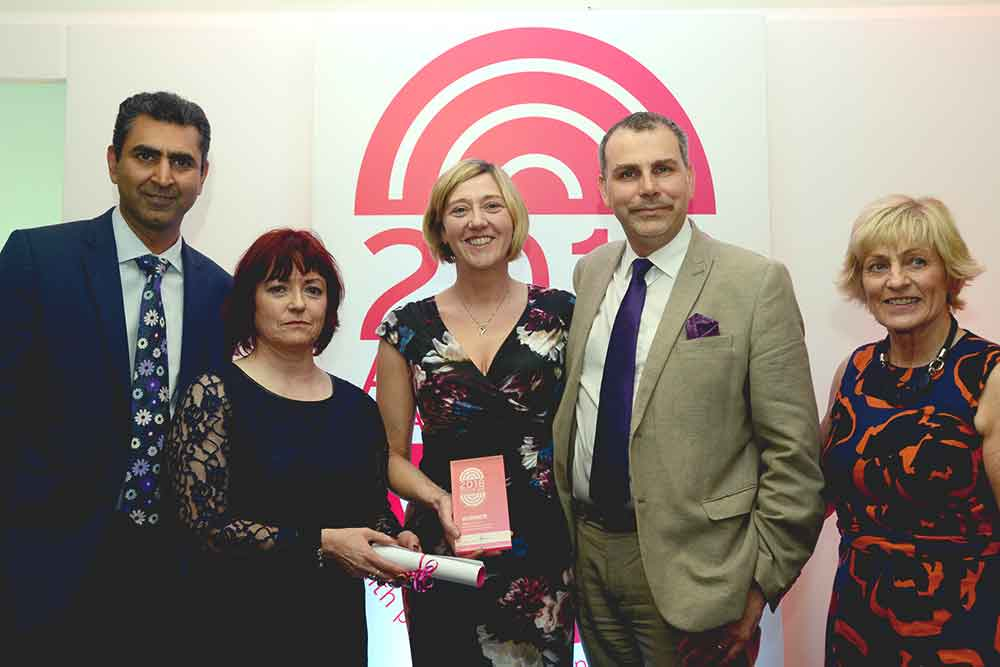 Feature image for HCS Degree Apprenticeship recognised with an Advancing Healthcare Award