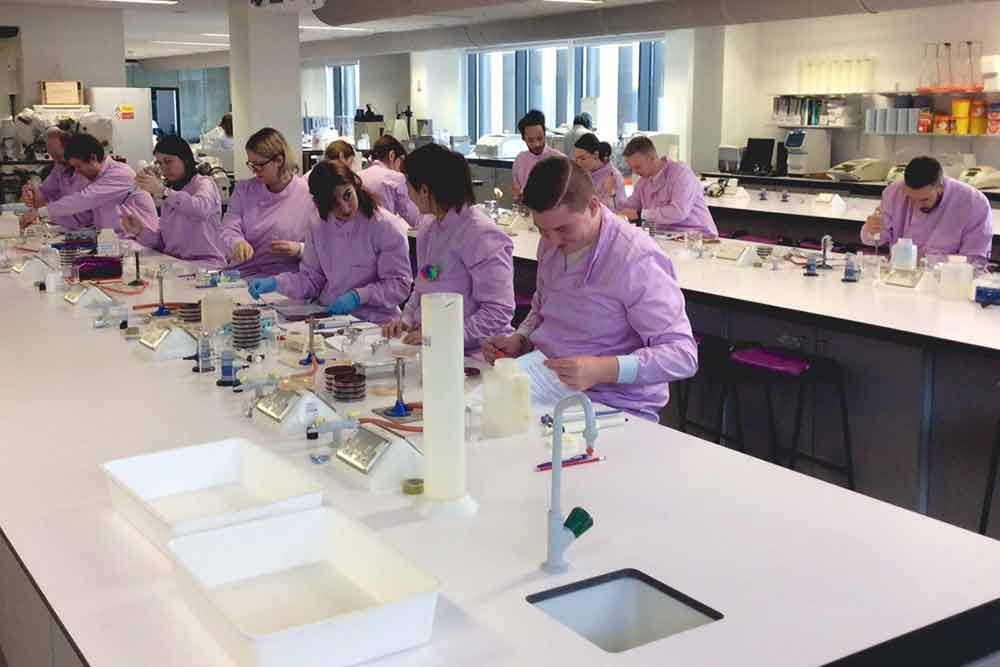Feature image for Apprenticeship students attend healthcare science study day
