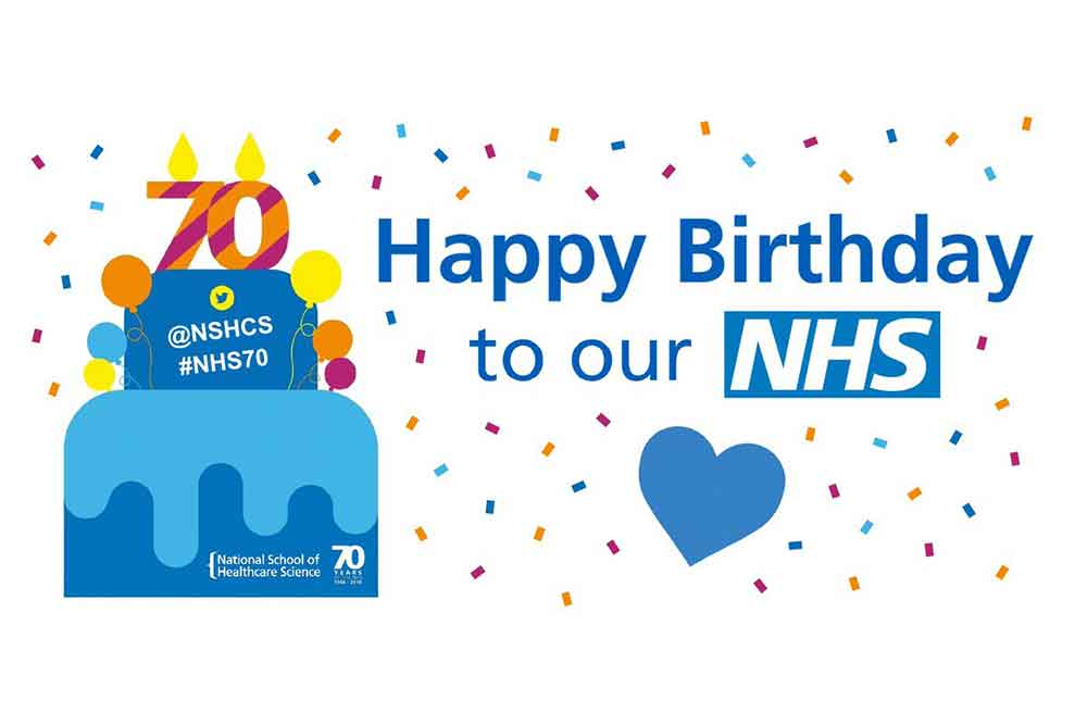 Feature image for School joins in NHS's 70th birthday celebrations