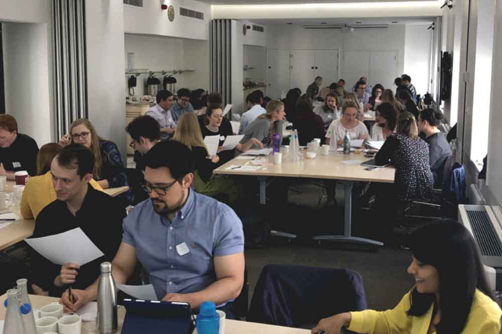 Feature image for First OSFA workshop for the London Trainee Network is a success