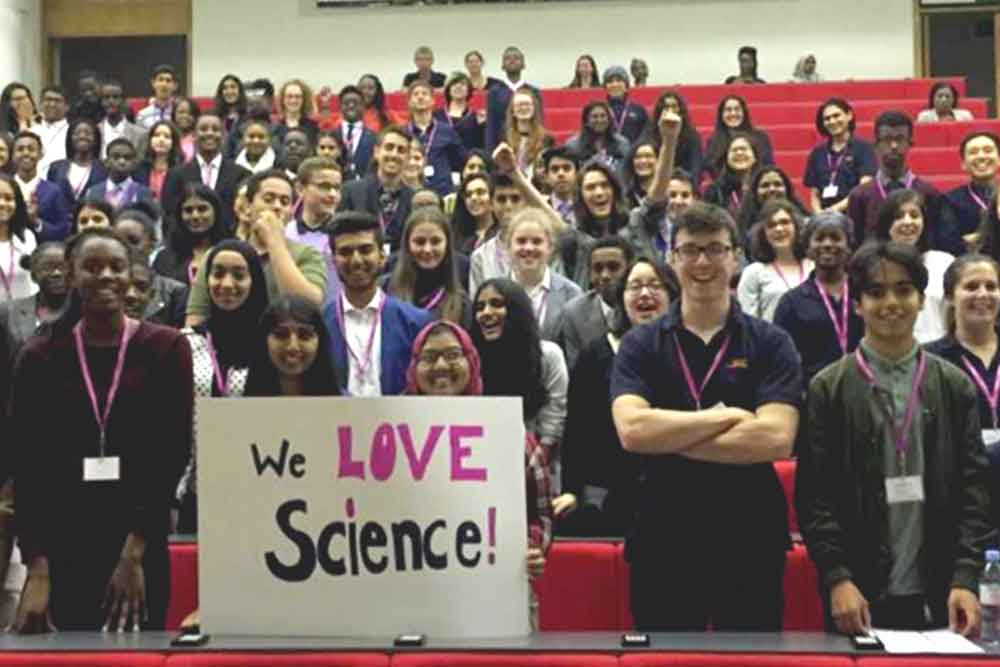 Feature image for Reaching out to students who are passionate about science