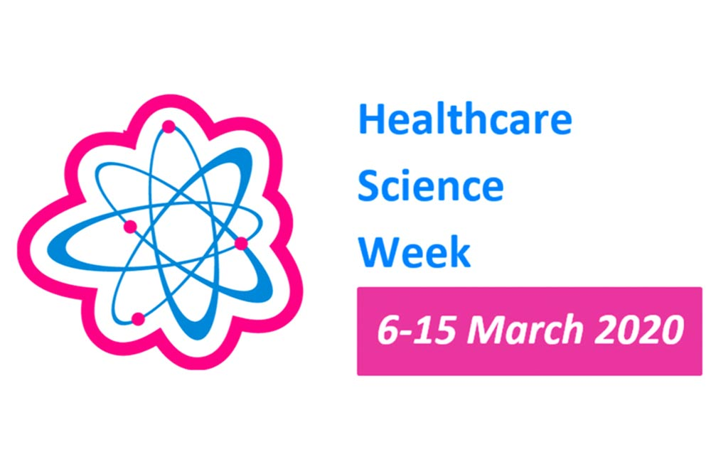 Feature image for Healthcare science week March 2020