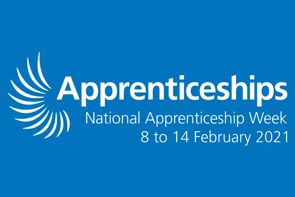 Feature image for Happy National Apprenticeship Week 2021