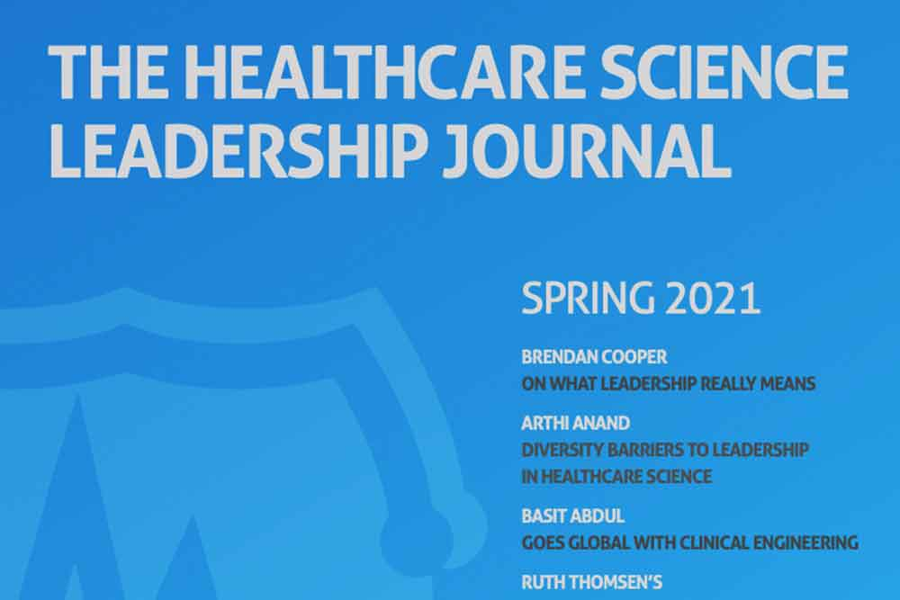 Feature image for School features in brand new healthcare science journal